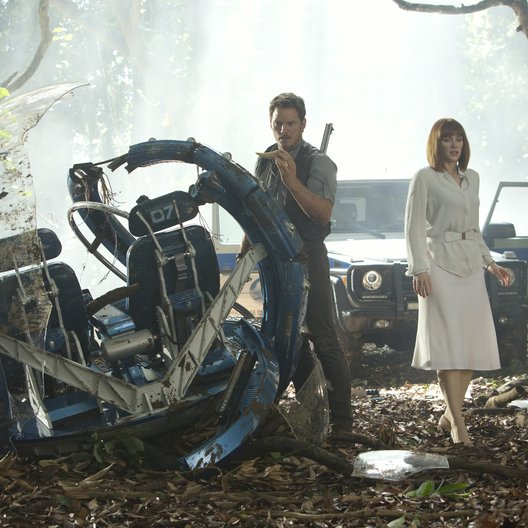 Jurassic World / Chris Pratt / Bryce Dallas Howard Poster