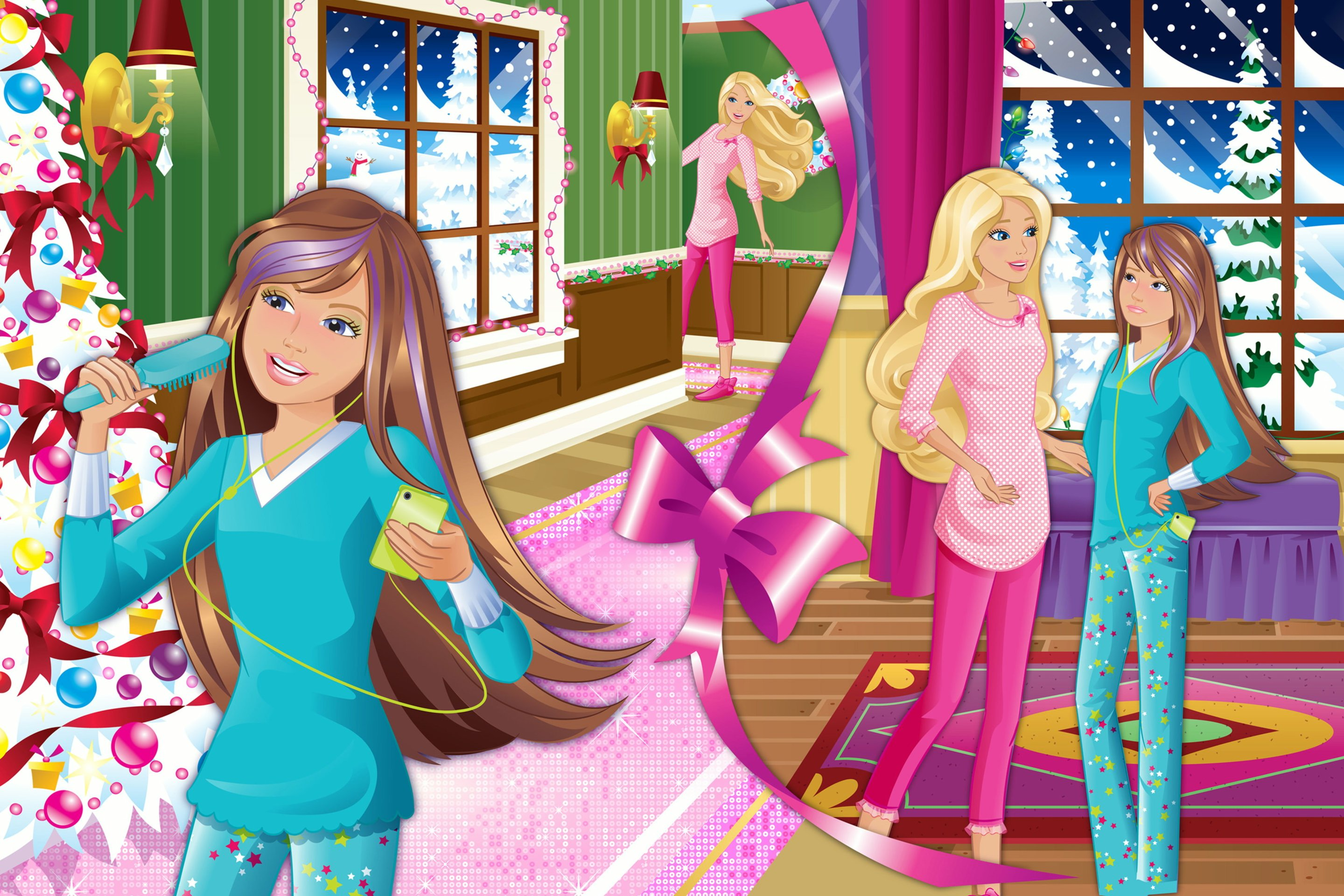 barbie zauberhafte weihnachten film 2011 trailer. Black Bedroom Furniture Sets. Home Design Ideas