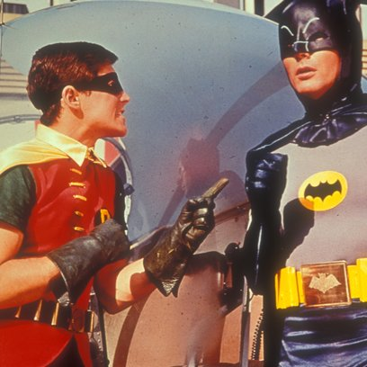 Batman hält die Welt in Atem / Burt Ward / Adam West Poster