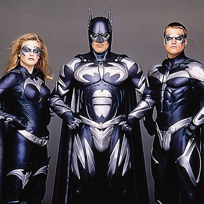 Batman & Robin / Alicia Silverstone / George Clooney / Chris O'Donnell Poster