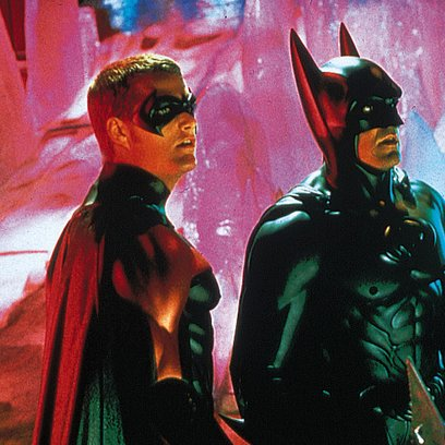 Batman & Robin / George Clooney / Chris O'Donnell Poster