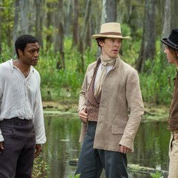 12 Years a Slave / Chiwetel Ejiofor / Benedict Cumberbatch / Paul Dano Poster