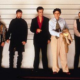 üblichen Verdächtigen, Die / Kevin Pollak / Stephen Baldwin / Benicio Del Toro / Gabriel Byrne / Pete Postlethwaite Poster