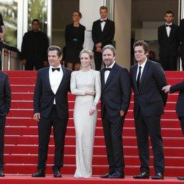 Brolin, Josh / Blunt, Emily / Villeneuve, Denis / Del Toro, Benicio / Frémaux, Thierry / 68. Internationale Filmfestspiele von Cannes 2015 / Festival de Cannes Poster