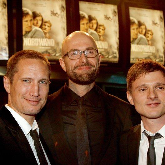 """Premiere von """"Nordwand"""" in München / Benno Fürmann, Philipp Stölzl und Florian Lukas Poster"""