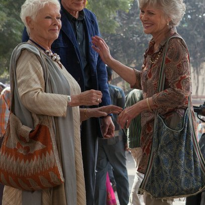 Best Exotic Marigold Hotel 2 / Dame Judi Dench / Bill Nighy / Diana Hardcastle Poster