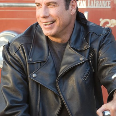 Born to be wild - Saumäßig Unterwegs / John Travolta Poster