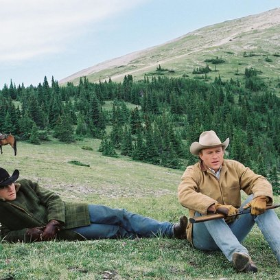 Brokeback Mountain / Jake Gyllenhaal / Heath Ledger Poster