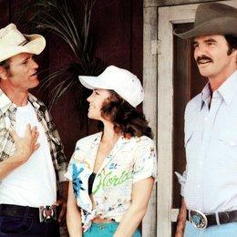 ausgekochtes Schlitzohr ist wieder auf Achse, Ein / Sally Field / Jerry Reed / Burt Reynolds Poster