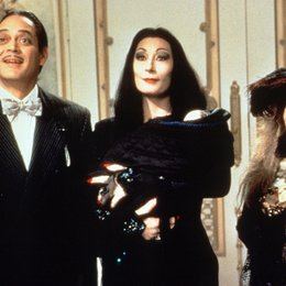 Addams Family in verrückter Tradition, Die / Anjelica Huston / Raul Julia / Carol Kane Poster