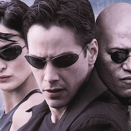 Matrix / Keanu Reeves / Carrie-Anne Moss / Laurence Fishburne Poster
