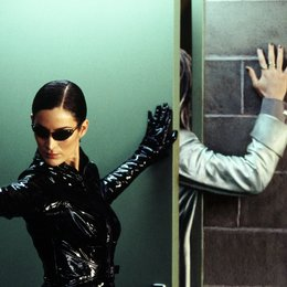 Matrix Reloaded / Carrie-Anne Moss Poster