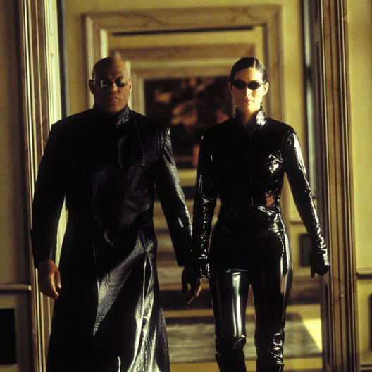 Matrix Reloaded / Laurence Fishburne / Carrie-Anne Moss Poster