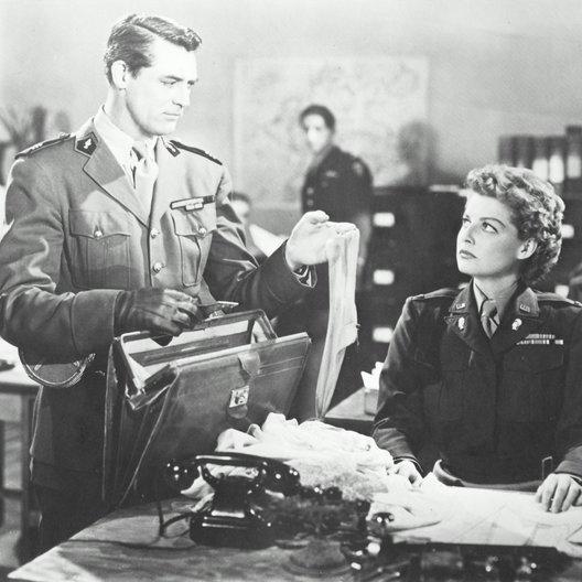 Ich war eine männliche Kriegsbraut / Cary Grant Poster