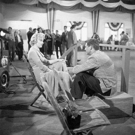 Liebling, ich werde jünger / Set / Marilyn Monroe / Cary Grant Poster