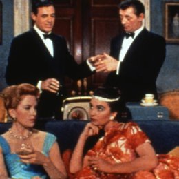 Vor Hausfreunden wird gewarnt / Deborah Kerr / Cary Grant / Jean Simmons / Robert Mitchum Poster