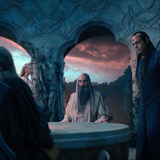 Hobbit: Eine unerwartete Reise, Der / Sir Ian McKellen / Cate Blanchett / Christopher Lee / Hugo Weaving Poster