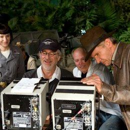 Indiana Jones und das Königreich des Kristallschädels / Set / Cate Blanchett / Steven Spielberg / Harrison Ford Poster