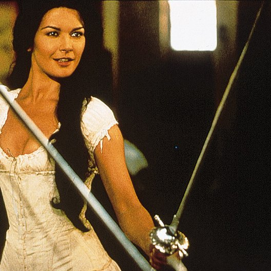 Maske des Zorro, Die / Catherine Zeta-Jones Poster