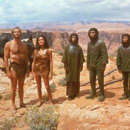 Planet der Affen, Der / Charlton Heston / Linda Harrison