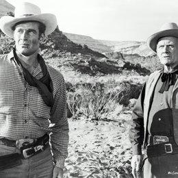 Weites Land / Charlton Heston Poster