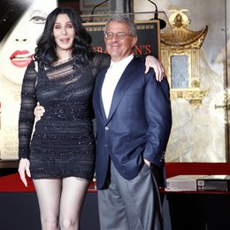 Cher / Ron Meyer / Hand And Footprint Ceremony At Grauman's Chinese Theatre Poster