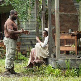 12 Years a Slave / Set / Steve McQueen / Chiwetel Ejiofor Poster
