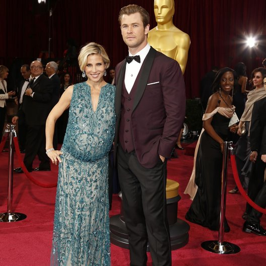 Elsa Pataky / Chris Hemsworth / 86th Academy Awards 2014 / Oscar 2014 Poster