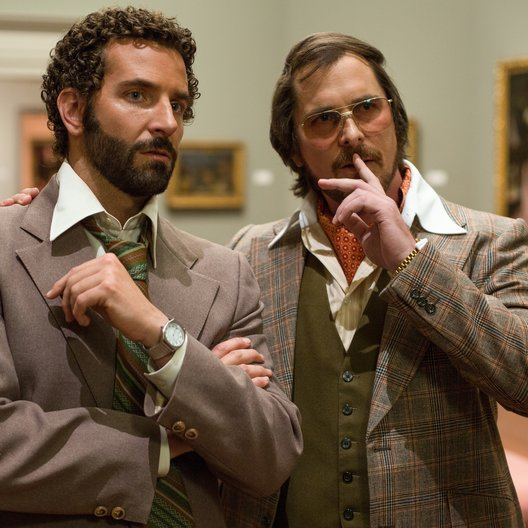 American Hustle / American Bullshit / Bradley Cooper / Christian Bale Poster