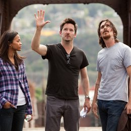 Auge um Auge / Set / Zoe Saldana / Scott Cooper / Christian Bale Poster