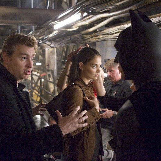 Batman Begins / Christian Bale / Katie Holmes / Set