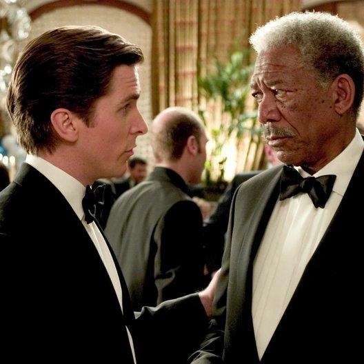 Batman Begins / Christian Bale / Morgan Freeman