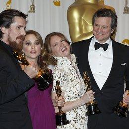 Christian Bale / Natalie Portman / Melissa Leo / Colin Firth / 83rd Annual Academy Awards - Oscars / Oscarverleihung 2011 / Poster