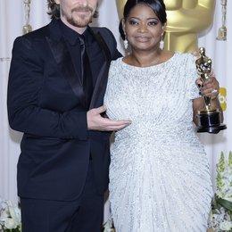 Christian Bale / Octavia Spencer / 84rd Annual Academy Awards - Oscars / Oscarverleihung 2012 Poster