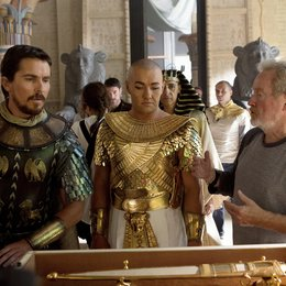 Exodus: Götter und Könige / Set / Christian Bale / Joel Edgerton / Ridley Scott