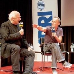 Verleihung des ARRI-Zeiss-Preises im Rahmen des Filmfest München 2009 / Kameraexperten im Gespräch / Jana Marsik und Alexander Fischerkoesen Poster