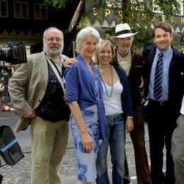 Vater Morgana / Set / Douglas Welbat, Eva Hubert, Jacqueline Jagow, Michael Gwisdek, Christian Ulmen und Till Endemann Poster