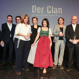 Wagner-Clan - Eine Familiengeschichte, Der / Clan. Die Geschichte der Familie Wagner, Der (ZDF) / Iris Berben / Justus von Dohnányi / Janina Fautz / Noah Kraus / Thalia Neumann Poster