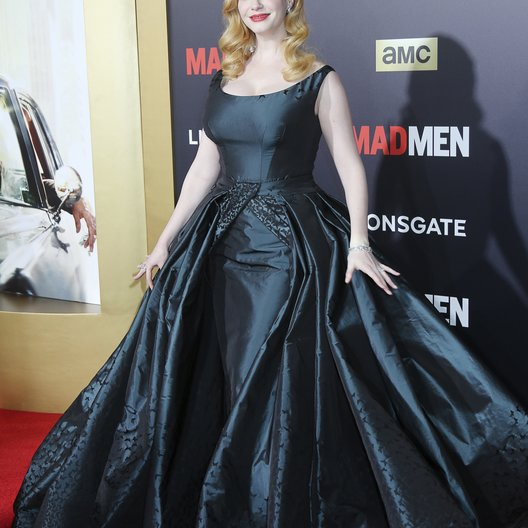 "Hendricks, Christina / AMC Celebration der finalen 7. Staffel von ""Mad Men"", Los Angeles Poster"