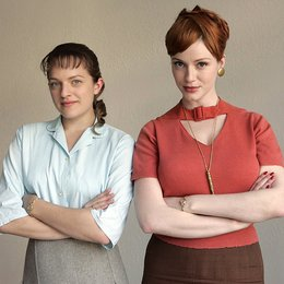 Mad Men / Elisabeth Moss / Christina Hendricks Poster