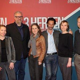 Alice Girard, Götz Gerlach, Petra Müller, Edouard Weil, Claudia Steffen, Christoph Friedel (v.l.) Poster