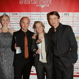 Entertainment Night 2012 / Video Champion 2012 / Rosalie Thomass, Christoph Maria Herbst, Ingrid Langheld und Ralf Husmann Poster
