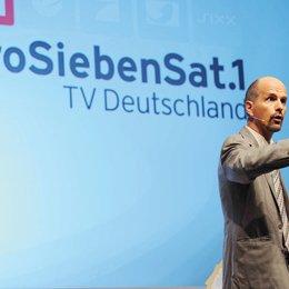 ProSiebenSat.1 präsentierte Jahresprogramm 2012/13 in Hamburg / Christoph Maria Herbst Poster