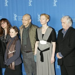 Kaboré, Gaston / Coixet, Isabel / Waters, Alice / Wang, Wayne / Swinton, Tilda / Mankell, Henning / Schlingensief, Christoph / Berlinale 2009 - 59. Internationale Filmfestspiele Berlin / Jury Poster