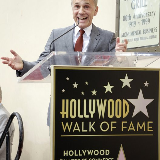 Christoph Waltz / Stern am Hollywood Walk Of Fame Poster