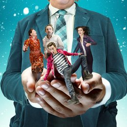 fantastische Welt der Borger, Die / Christopher Eccleston / Stephen Fry / Robert Sheehan / Sharon Horgan / Aisling Loftus Poster
