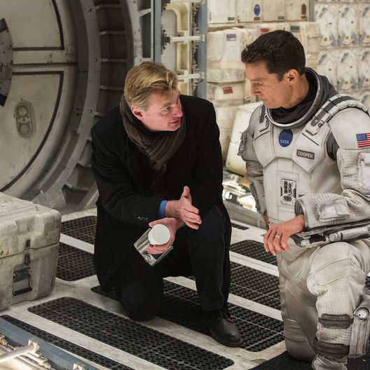 Interstellar / Set / Christopher Nolan / Matthew McConaughey