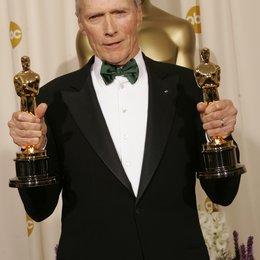 "Eastwood, Clint / 77. Academy Awards 2005 / Oscar 2005 / Gewinner der Kategorie ""Beste Regie"" und ""Bester Film"" Poster"