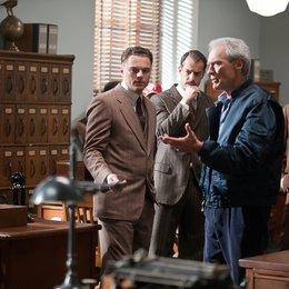 J. Edgar / Set / Leonardo DiCaprio / Clint Eastwood Poster