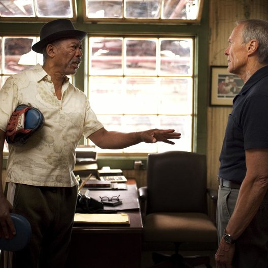 Million Dollar Baby / Morgan Freeman / Clint Eastwood Poster